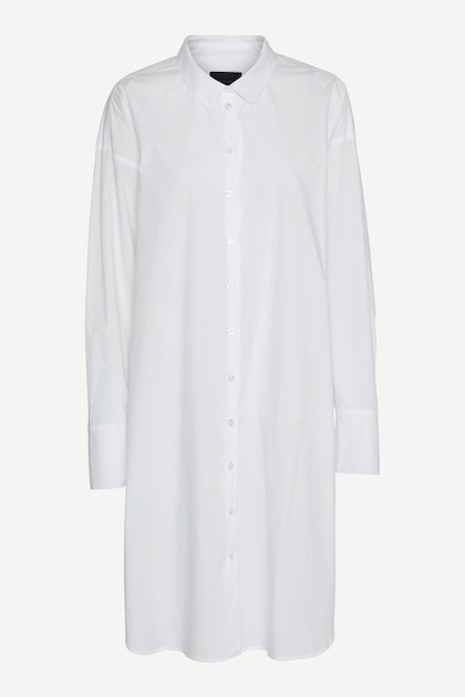Birgitte Herskind Cottons NILLY SHIRT DRESS - WHITE